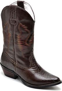Bota Top Franca Shoes Texana - Masculino-Café