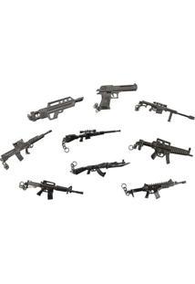 Chaveiro Decokey Em Metal Mini Arma Nautika