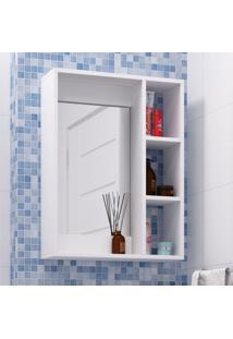 Armário Para Banheiro Bbn 03-06 Branco - Brv Móveis
