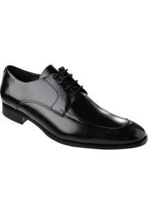 Sapato Social Constantino 018 Blk001 - Masculino-Preto