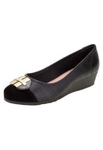 Sapato Feminino Anabela Moleca - 5156770