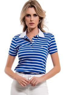 07621d3c6b5b5 Camisa Pólo Acinturada Conforto feminina   Gostei e agora