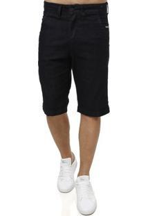 Bermuda Jeans Klug Masculina - Masculino-Marinho