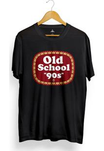 Camiseta Skill Head Old School 90S - Masculino-Preto