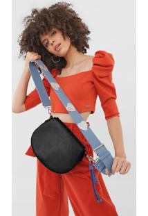Bolsa Transversal Across Body Bag Nurs Preto