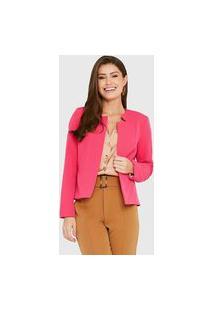 Blazer Alfaiataria Colors Rosa Miss Joy 6998