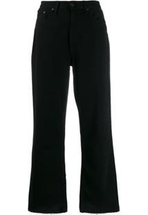 Rag & Bone Calça Jeans Flare - Preto