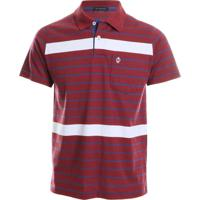 bc2a3768cf Camisa Pólo Vermelha Vinho masculina