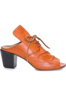 Sapato Feminino Tie - Laranja