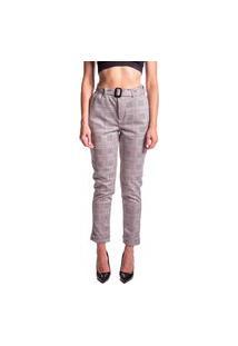 Calça Alfaiataria Aero Jeans Xadrez