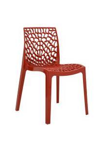 Cadeira Gruv Vermelha Rivatti