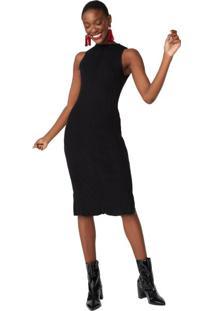 Vestido Tricot Chevron