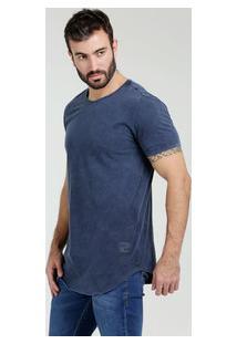 Camiseta Masculina Longline Manga Curta Kohmar