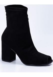 Bota Feminina Open Boot Bebecê 6714623