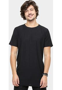 Camiseta Ellus Long Flame Masculina - Masculino