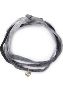 Christian Koban 'Slice' Diamond Necklace - Cinza
