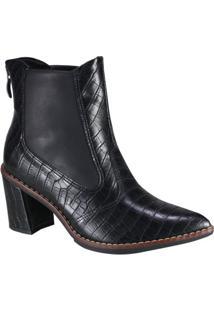 Bota Piccadilly Ankle Boot Feminina