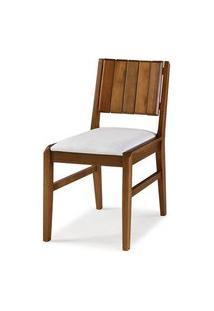 Cadeira Salvador Verniz Avela Estofada 43Cm - 60449 Preto