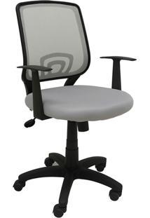Cadeira Office Avila Cinza Rivatti