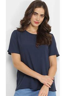 Camiseta Forum Basic Viscose Feminina - Feminino
