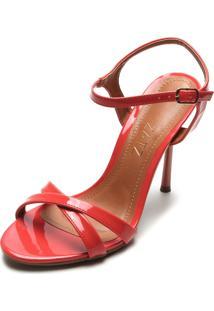 Sandália Zatz Verniz Vermelha