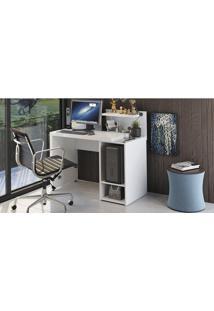 Conjunto De Escritório Com Escrivaninha Fit E Cadeira Meriva