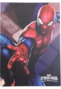 Quadro Com Led Homem Aranha Web Warriors
