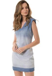 f05c714a2c Vestido Dia A Dia Jeans feminino