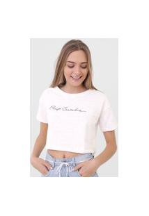 Blusa Cropped Rip Curl Last Wave Off-White