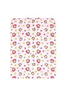 Cobertor Bebê Feminino Rosa Mônica Baby (90X110Cm) - Turma Da Mônica - Tamanho Único - Rosa