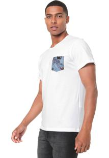 Camiseta Coca-Cola Jeans Bolso Branca