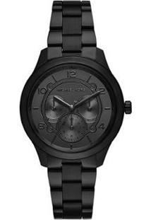 Relógio Michael Kors Runway Feminino - Feminino-Preto