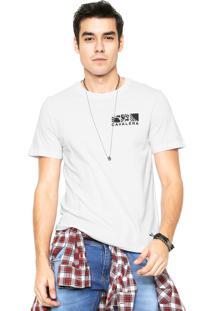 Camiseta Cavalera Fragmentos Branca