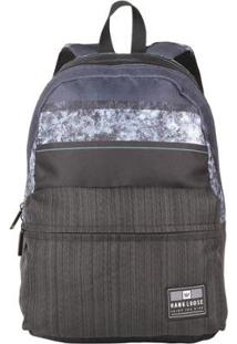 Mochila Oh My Bag Growd Hang Loose - Unissex-Preto