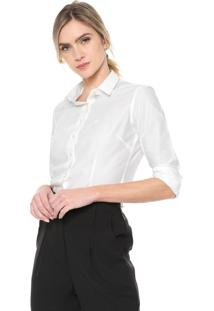 Camisa Dudalina Lisa Branca