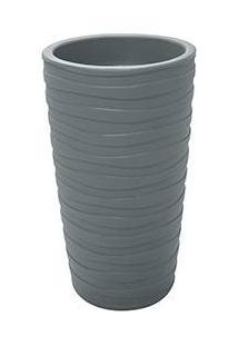 Vaso De Plástico Grego M Cimento - Tramontina