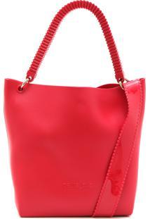 Bolsa Petite Jolie Lisa Vermelha