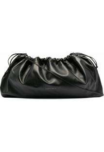 Studio Amelia Maxi Drawstring Bag - Preto