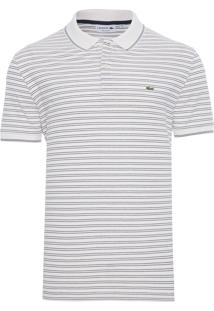 Polo Masculina Regular Fit – Off White