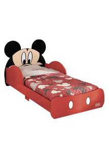 Mini Cama Pura Magia Disney Mickey Vermelho
