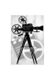 Painel Adesivo De Parede - Cinema - Projetor - Filmes - 1646Pnp