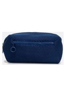 Necessaire Tijolão Lisa Get Over | Accessories | Azul Marinho | U