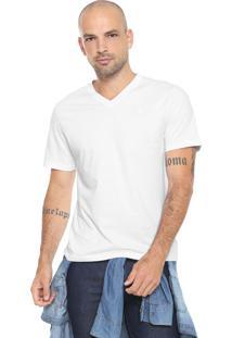 Camiseta Cavalera Slim Branca