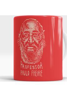 Caneca Professor Paulo Freire