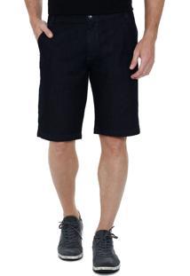 Bermuda Masculina Jeans Bolsos Marisa