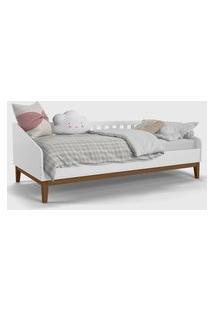 Cama Babá Nature Branco Soft / Eco Wood