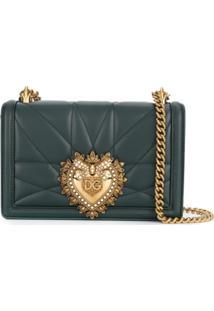 Dolce & Gabbana Bolsa Tote Devotion - Verde