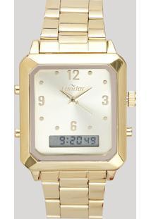 Relógio Analógico Condor Feminino - Cobj3718Ab4X Dourado - Único