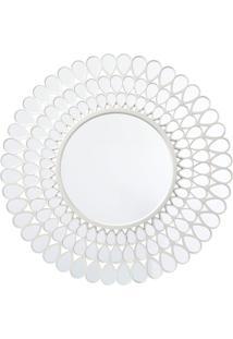 Espelho Royal Redondo De Parede Incolor