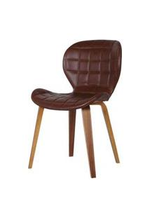 Cadeira Lucia Cor Marrom - 31686 Preto